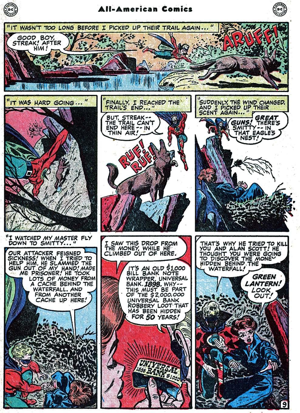 Read online All-American Comics (1939) comic -  Issue #99 - 11