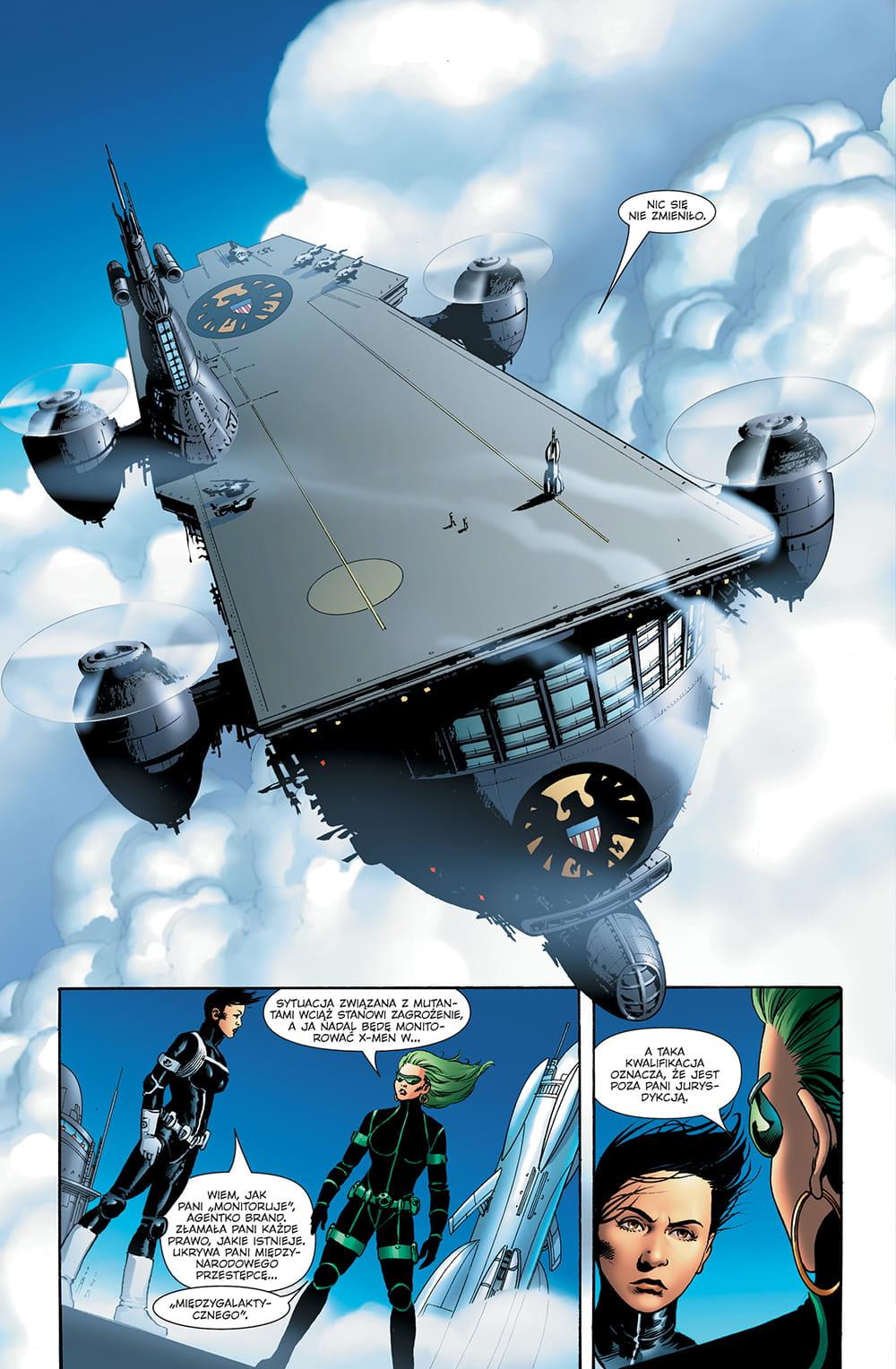 Astonishing X-Men tom 2 przykładowa strona