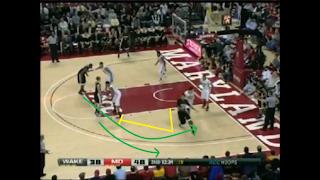 Inbound play για τα τελευταία 5 δευτερόλεπτα με σουτ τριών πόντων