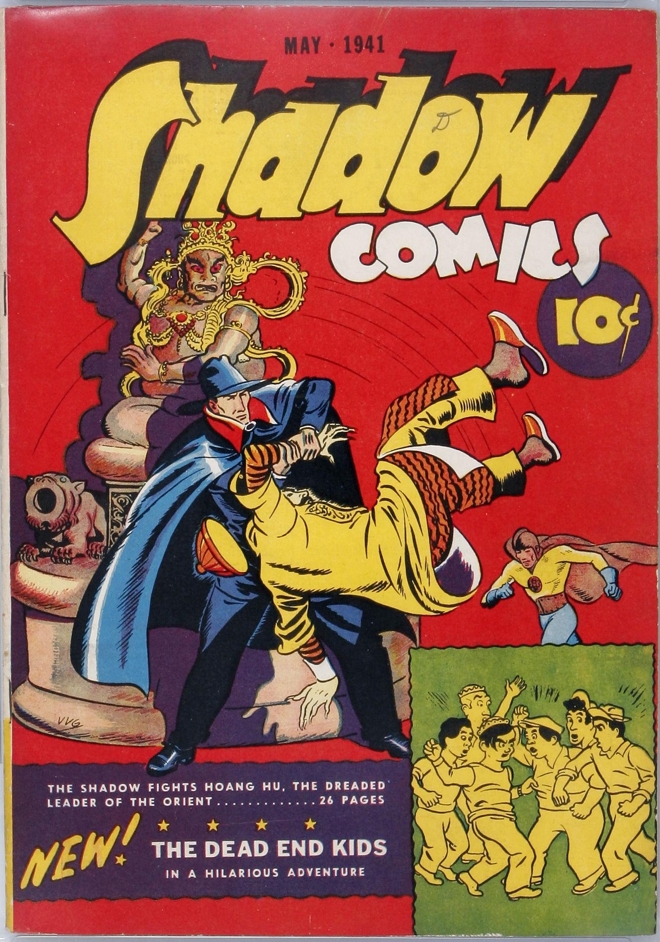Read online Shadow Comics comic -  Issue #10 - 1