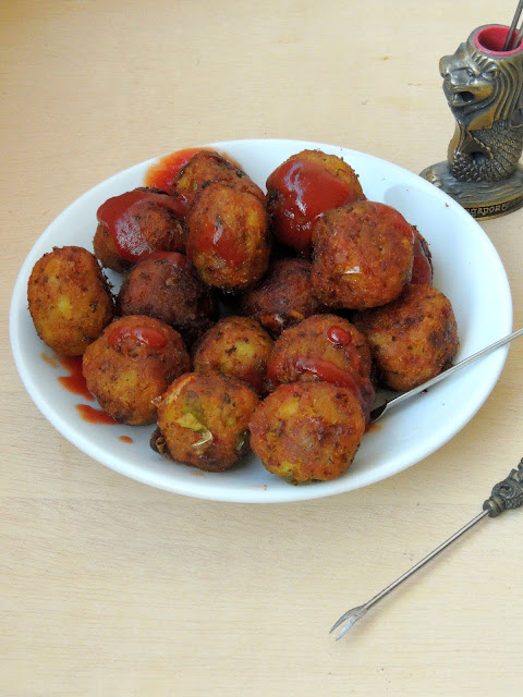 Mini vegetable  balls