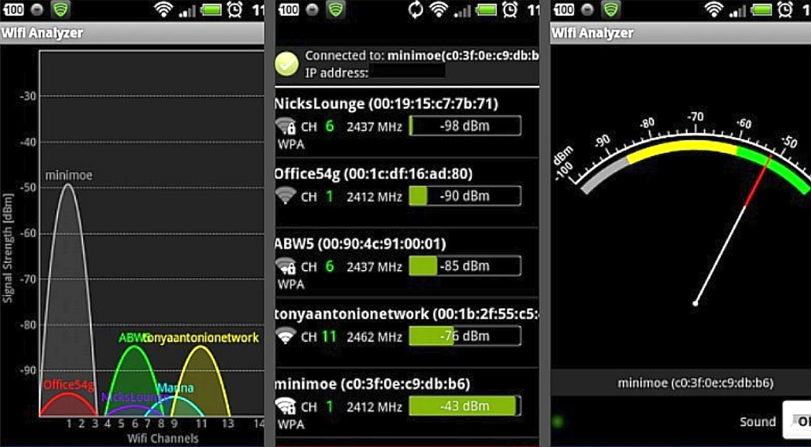 wifi analyzer iphone scanner wifi iphone autos post 1911