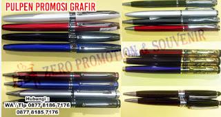 Pulpen Metal Grafir, Pulpen Promosi besi Grafir, atau pen besi stainless