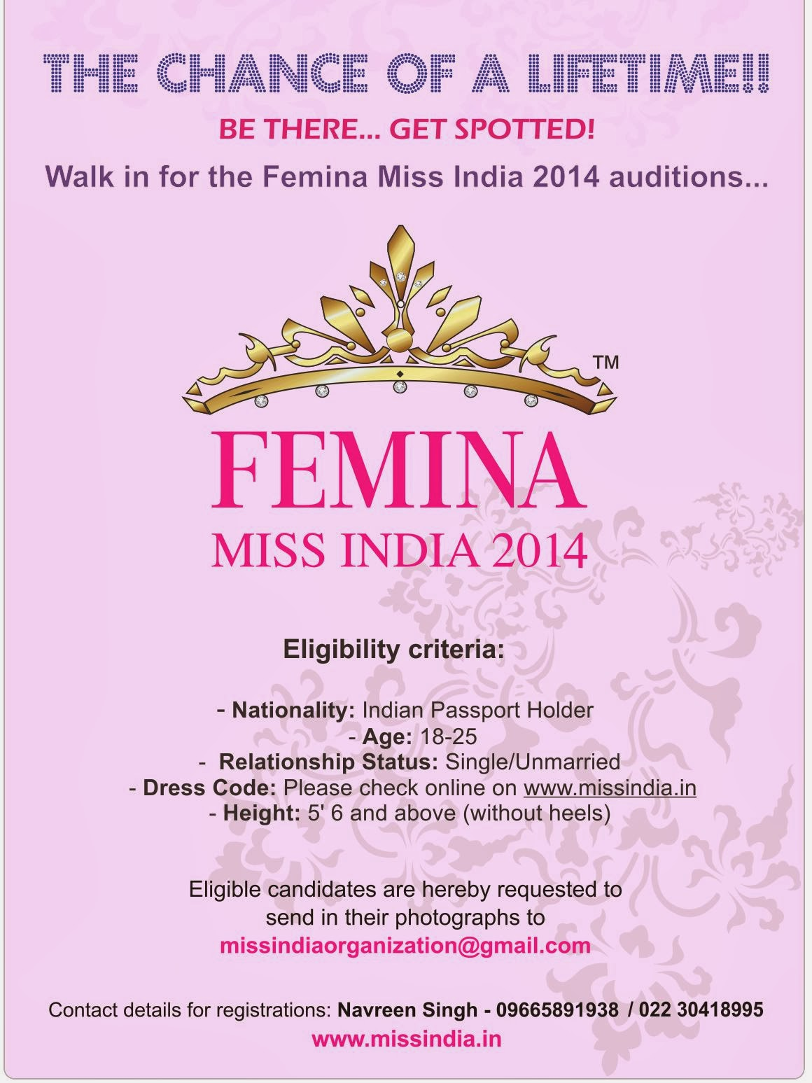 inspiring you to inspire femina miss contest is considered as the most prestigious beauty pageant in that provides a platform to the young and aspiring girls to be a