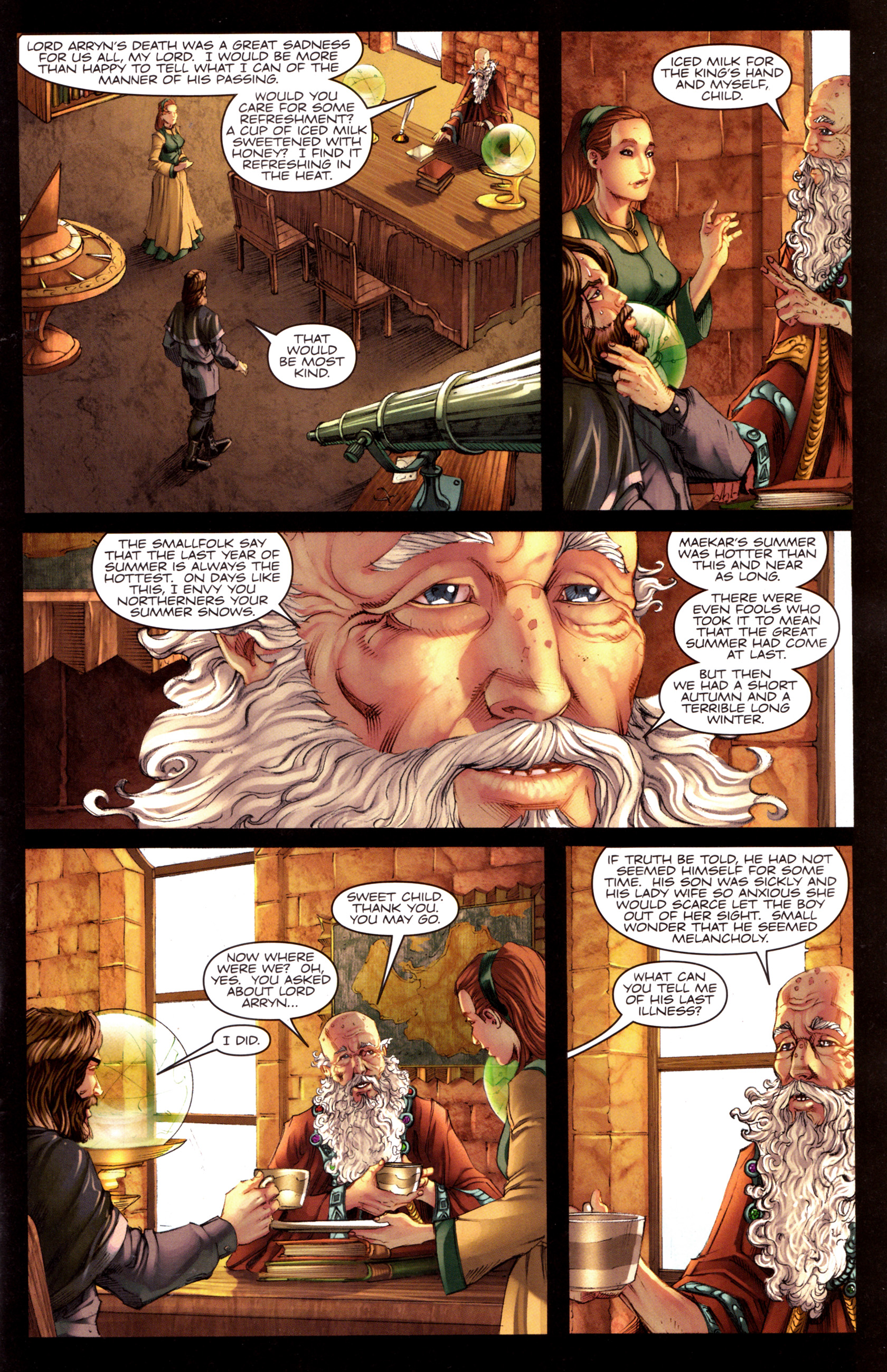 Read online A Game Of Thrones comic -  Issue #8 - 3