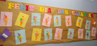 Sugestões de Painéis para o dia das Crianças