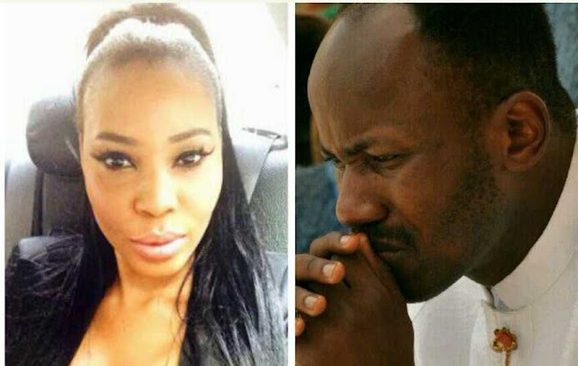 Actress Stephanie Otobo Said She Had Threesome Sex with Apostle Suleman