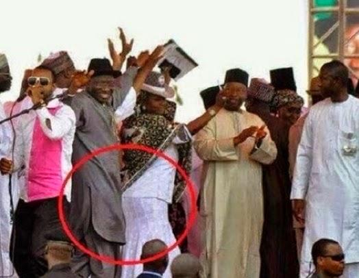 president jonathan ikebe dance