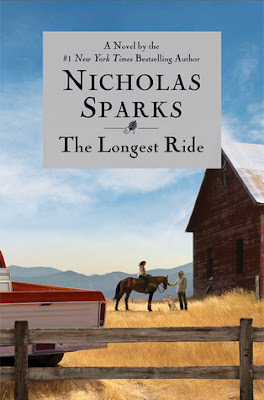 The Longest Ride by Nicholas Sparks – book cover