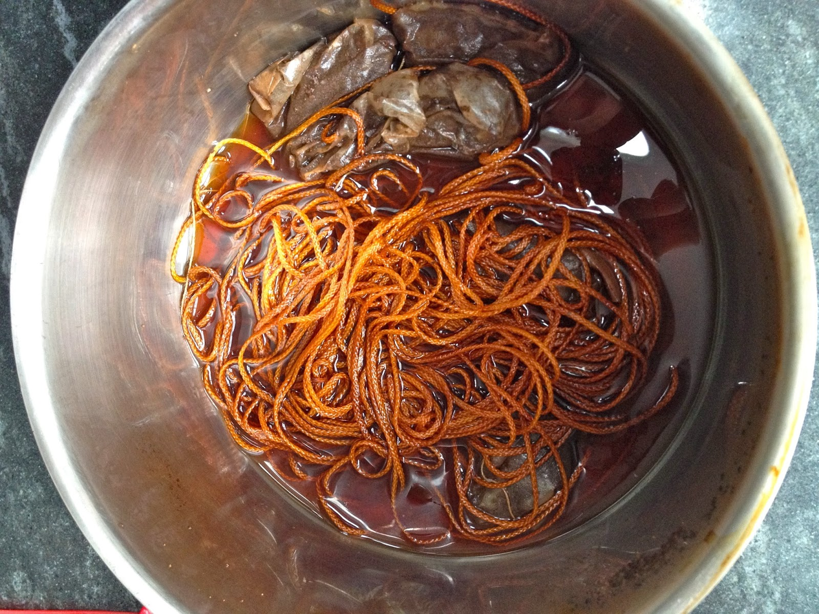 dye cording for roman shade