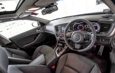 Interior All New Kia Optima