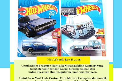 Bocoran Hot Wheels Box E 2018 (Pesona Ken & Mary)