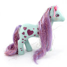 My Little Pony Starflash Year Eight Glittery Sweetheart Sister Ponies G1 Pony