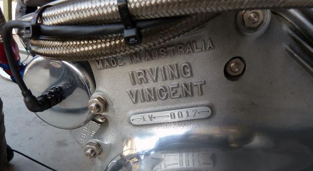 Irving Vincent Motorcycle Crankcase Engine Motor