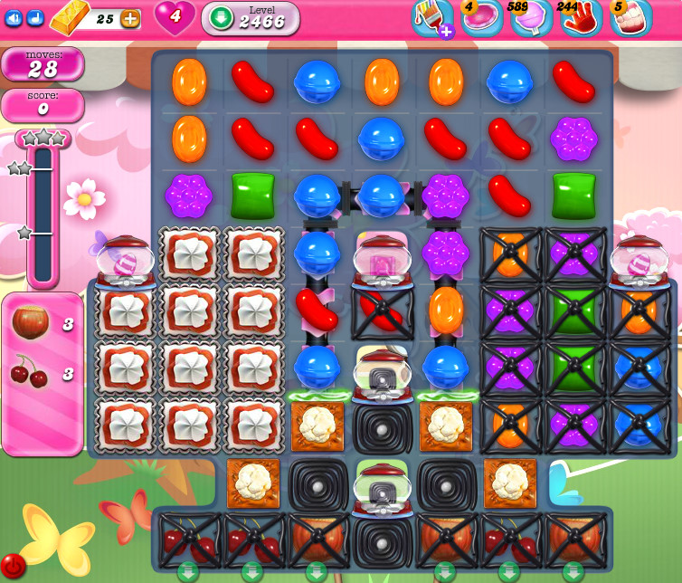 Candy Crush Saga level 2466