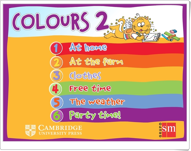 """Colours 2"" de Editorial SM y Cambridge University Press"