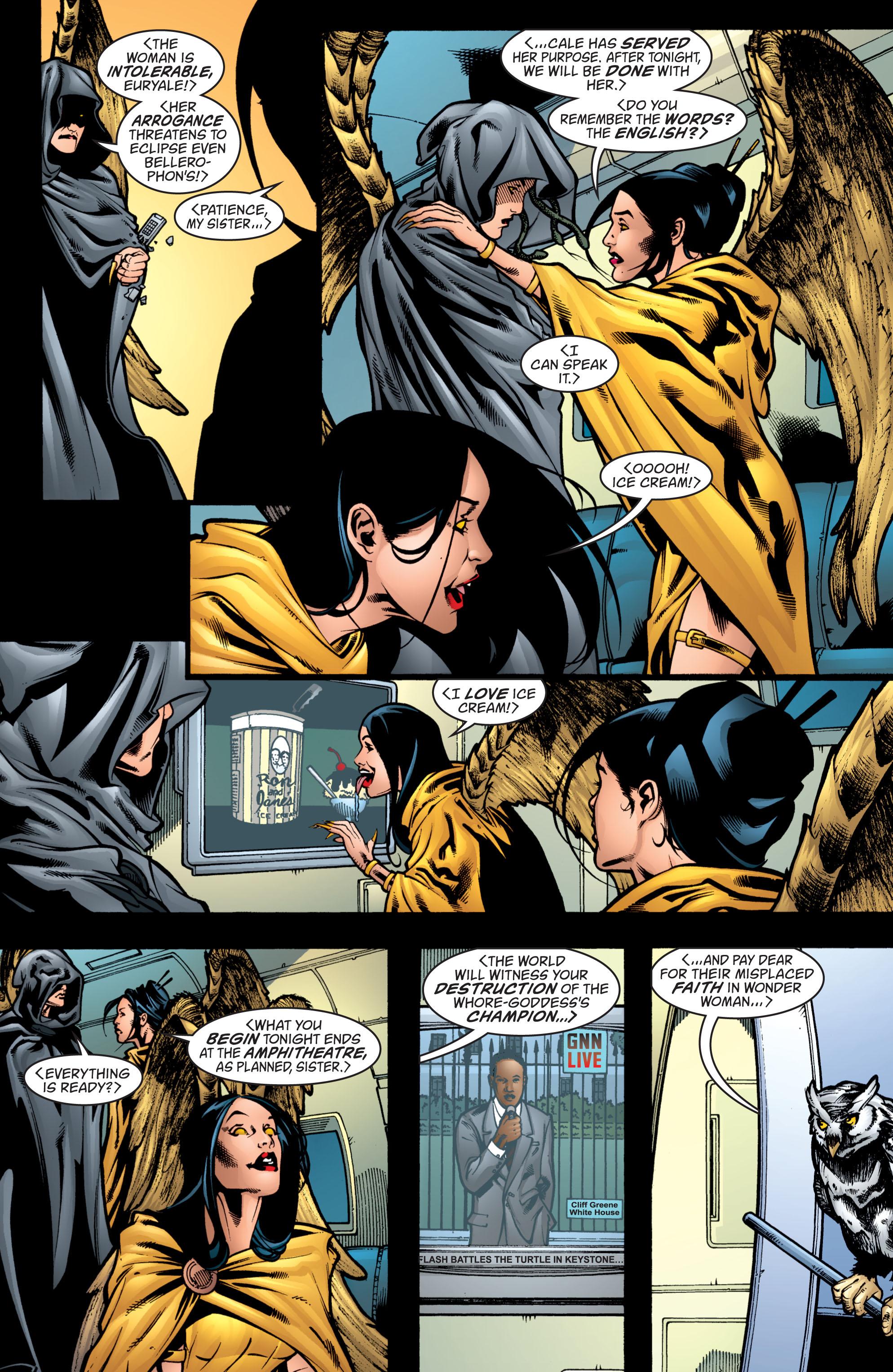 Read online Wonder Woman (1987) comic -  Issue #208 - 5