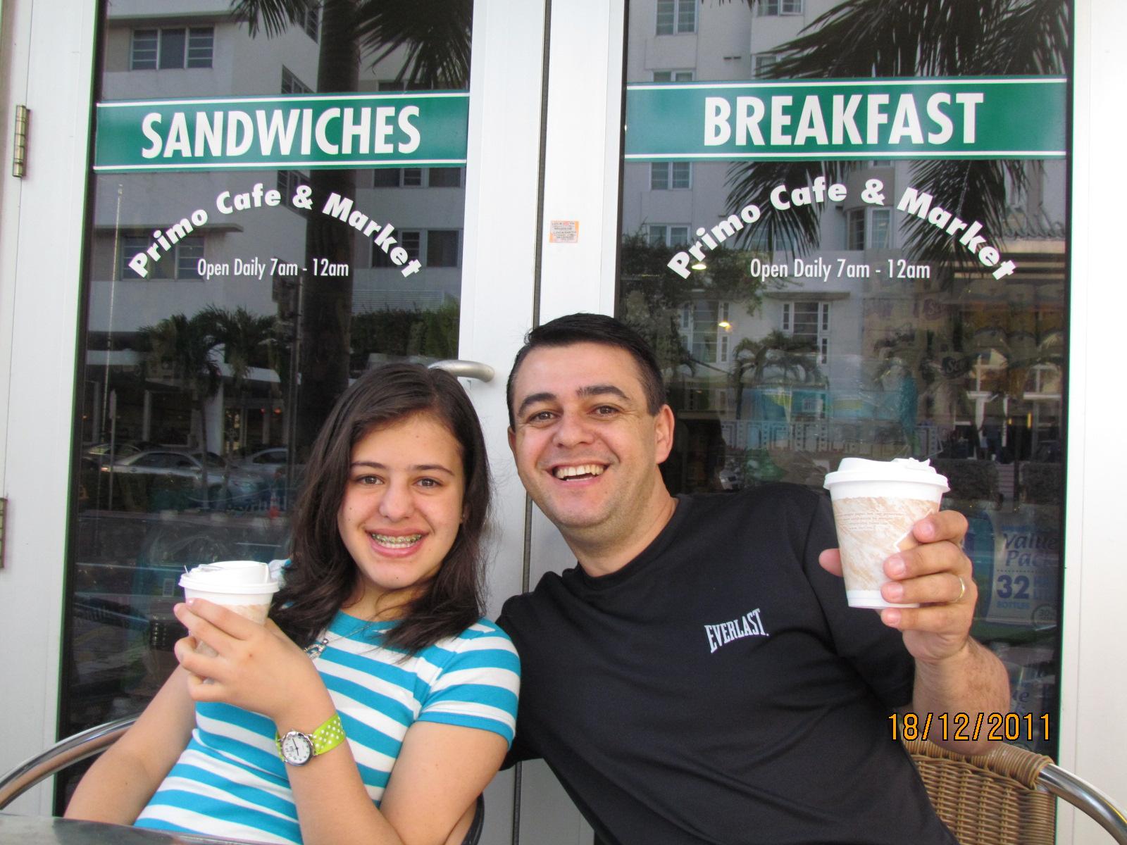 Primo café e Market em Miami