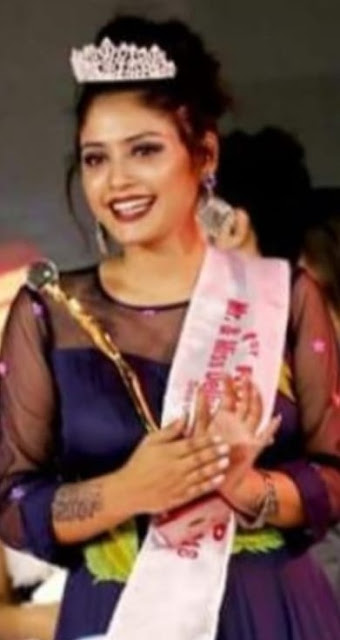 Nidhi Badola is the daughter of Miss Delhi Faridabad, Dhamaal is congratulating fans.