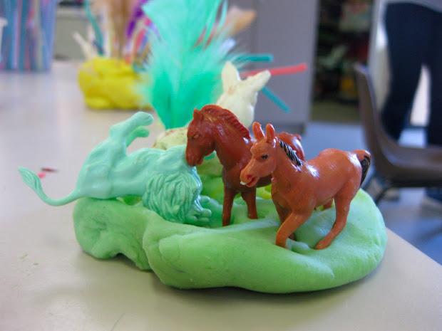 Animal Play Dough Sculpture