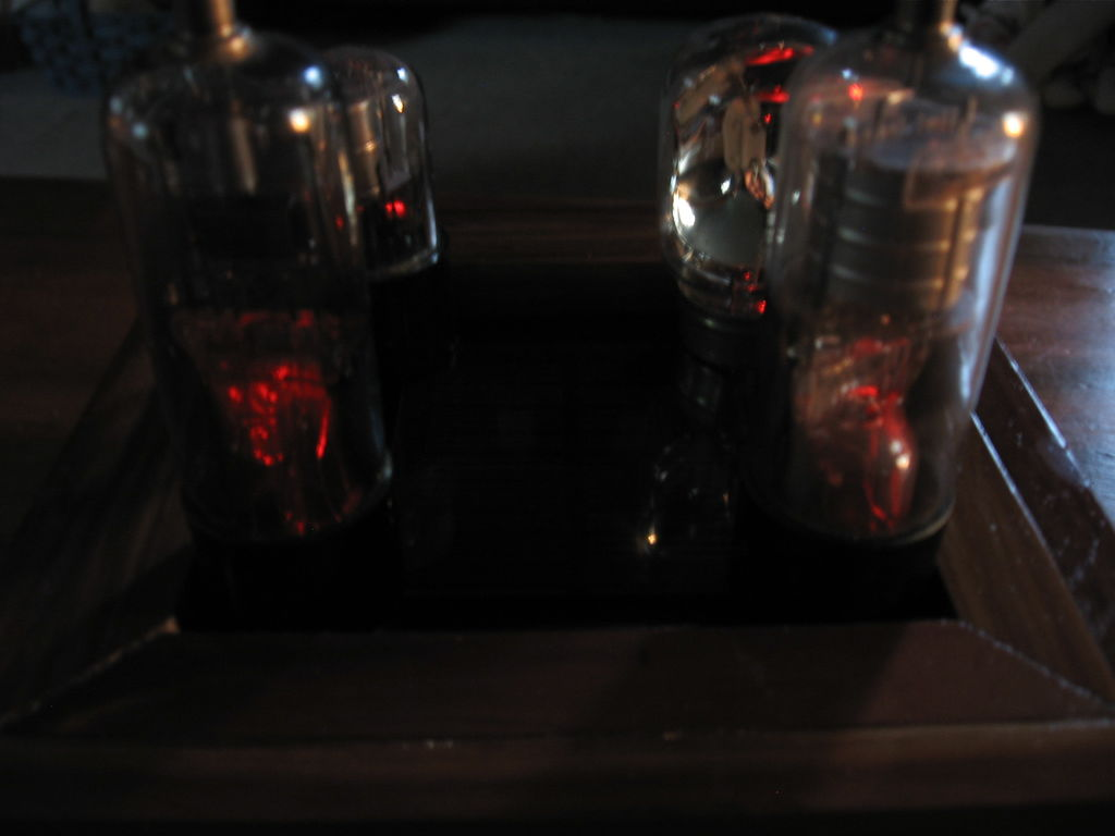Project - Solar Powered Vacuum Tube Display   Small Workshop