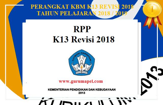Download Rpp Kelas 1 2 3 4 5 6 K13 Revisi Terbaru Lengkap Cute766