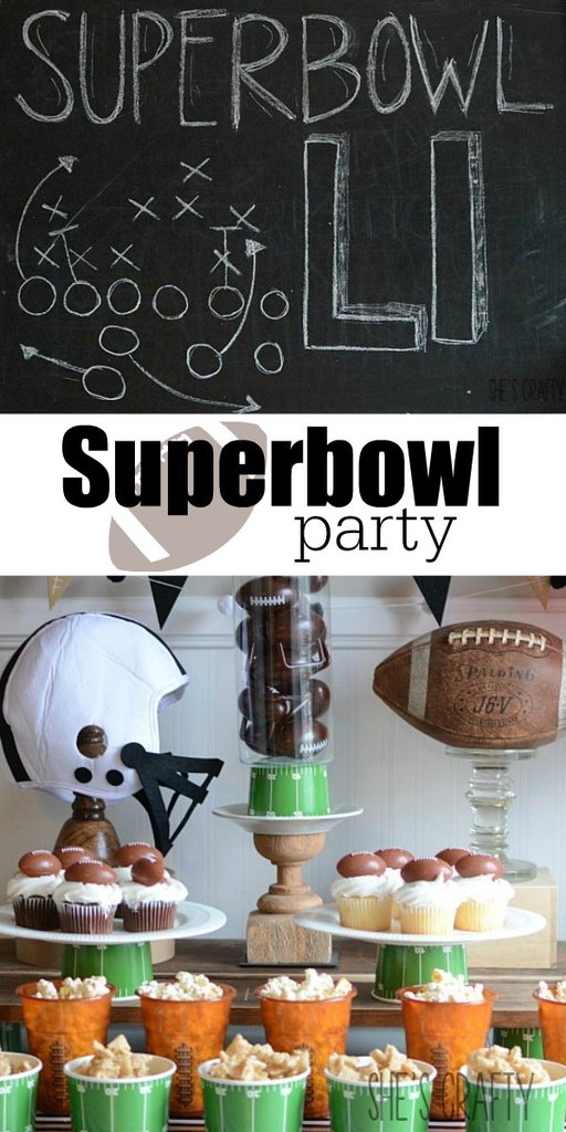 How to throw a Superbowl Party