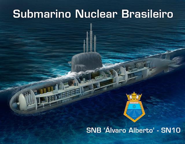 Submarino nuclear: el nuevo potencial geoestratégico de Brasil