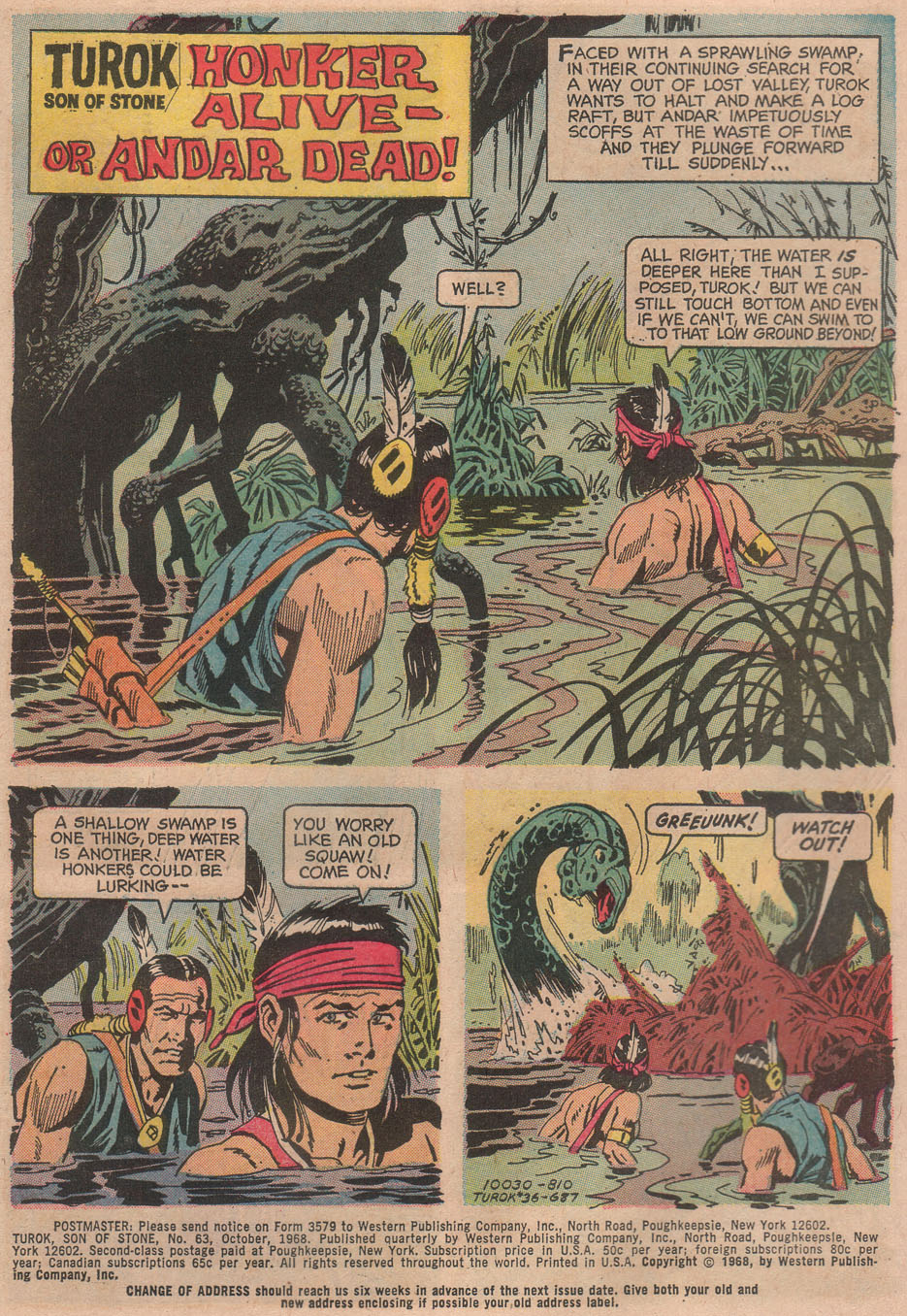 Read online Turok, Son of Stone comic -  Issue #63 - 3