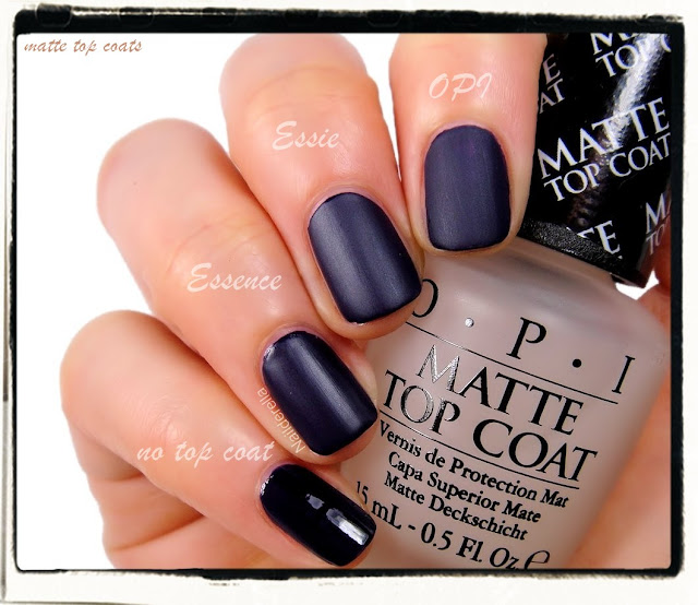 opi matte top coat opi matte top coat and comparison nailderella 30593
