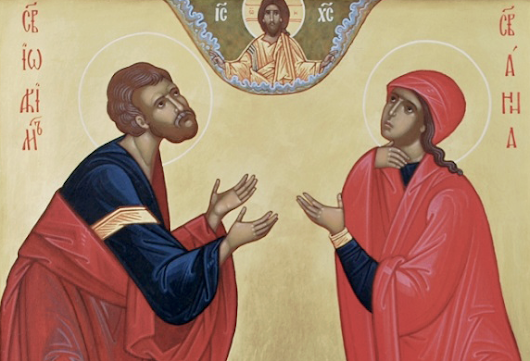 Akathist Hymn to the Holy and Righteous Joachim and Anna