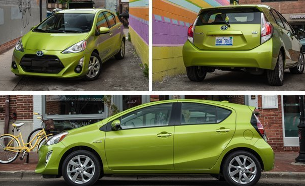 2015 Toyota Prius C Concept and Release Date
