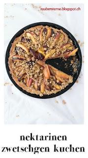 zwetschgenkuchen, nektarinenkuchen, früchtekuchen mit dinkelteig, gesunder kuchen, foodblog