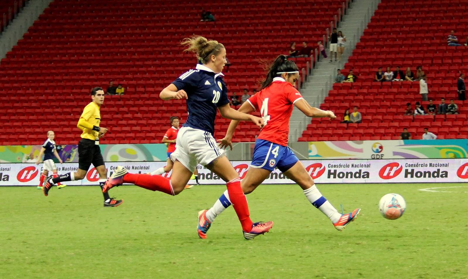 Chile y Escocia en Torneio Internacional de Brasília 2013, 18 de diciembre