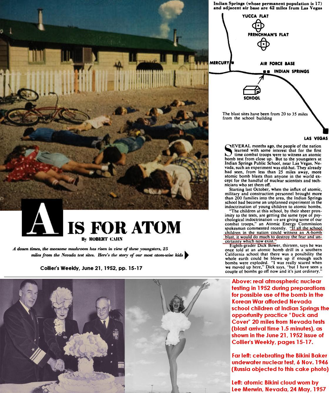 The Collateral Damage Of Testing >> Credible Nuclear Weapons Capabilities And Effects For Real World