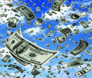 Random Pixels Blog The Way We Werethe Day It Rained Money In