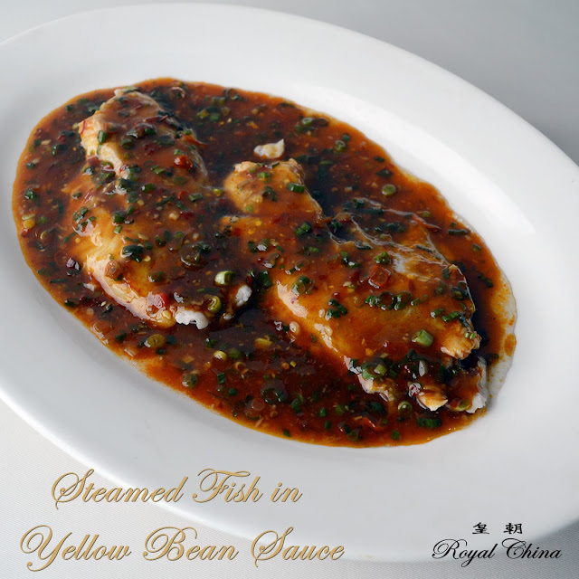 Steamed Fish in Yellow Bean Sauce from Royal China