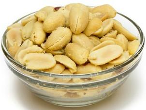 Los cacahuetes son ricos en aminoácidos