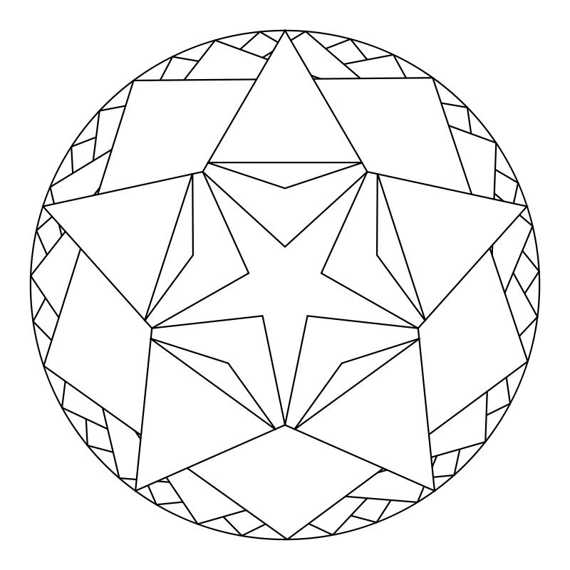 create your own mandala coloring page - what tangled webs mandalas zendalas