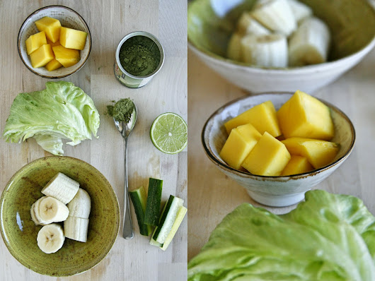 Matcha Green Tea Morning Smoothie | The Hackney Pantry