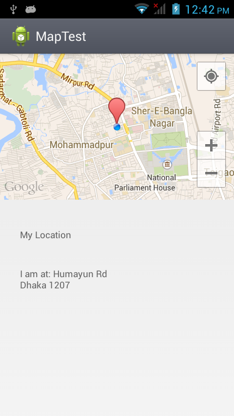 A Journey With Coding Get The Current Location And Show In Google