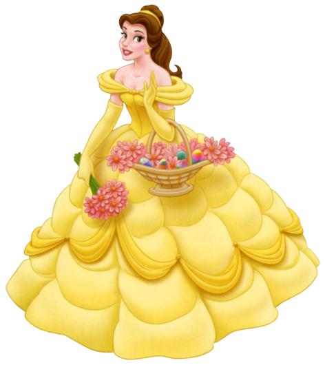 Beautifull Disney Princess Belle Wear Yellow Gown
