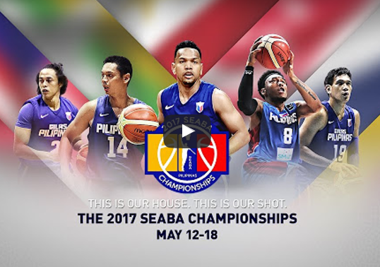 List of Replay Videos Gilas Pilipinas vs Indonesia May 18, 2017 @ Smart Araneta Coliseum