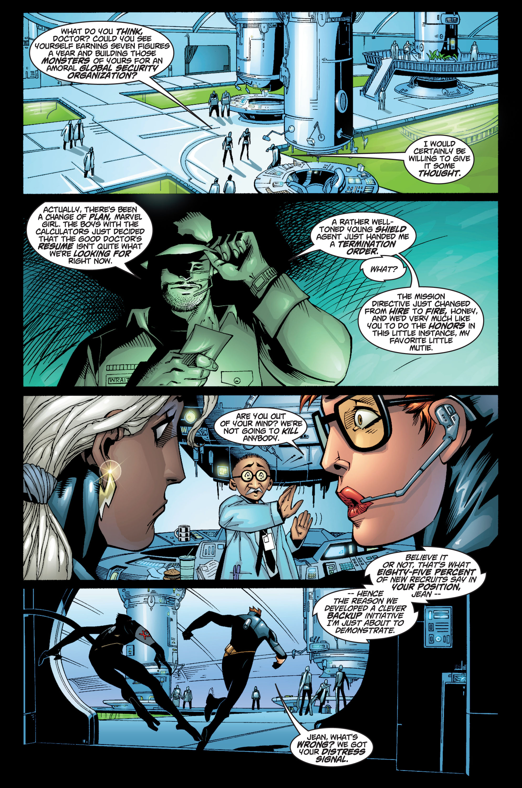 Read online Ultimate X-Men comic -  Issue #10 - 13