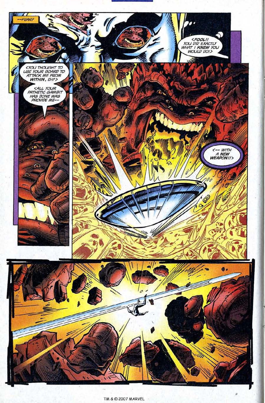 Read online Silver Surfer (1987) comic -  Issue #120 - 12