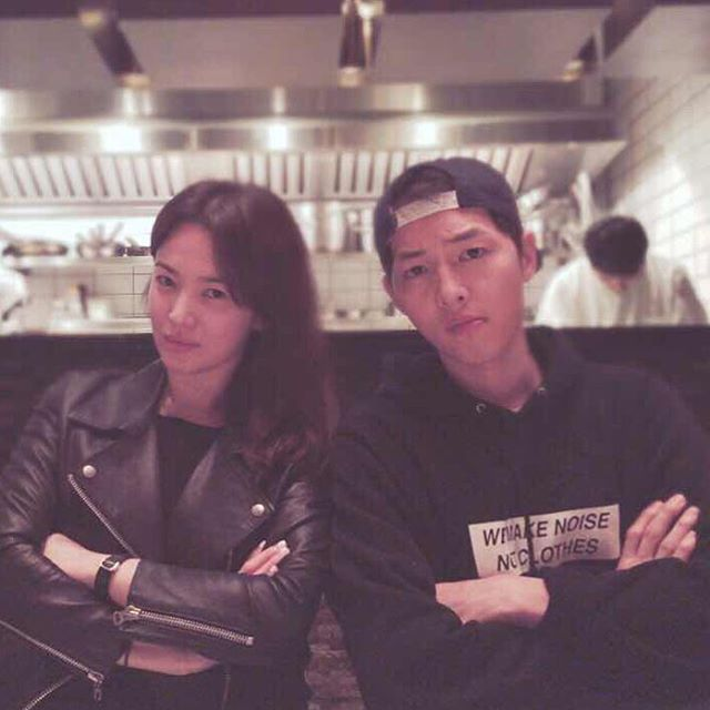 Song Joong Ki Hye Kyo Instagram SongSong Couple