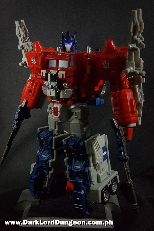 LG-35 Ginrai Powermaster Optimus Prime wit PC-15 upgrade Kit