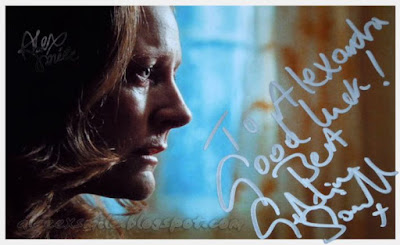Geraldine Somerville (Lily Potter) Autograf