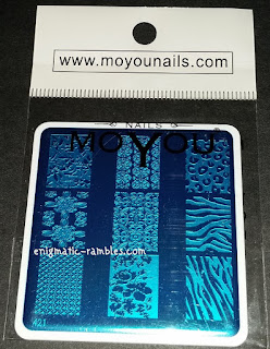 Review-MoYou-Nails-421-Stamping-Plate