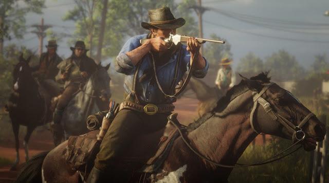 سوني تكشف رسميا عن حجم مساحة تثبيت لعبة Red Dead Redemption 2 على جهاز PS4 و هذا موعد إنطلاق التحميل المسبق ..